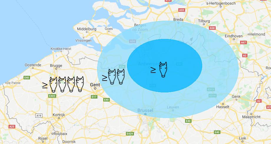 Visite regio's